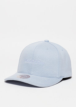 Baseball-Cap Script Melange Jersey light blue