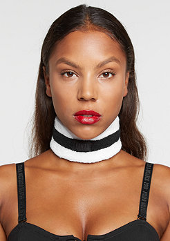 Fenty by Rihanna Terry Cotton Choker black/black