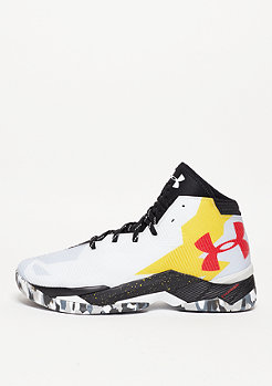 Basketbalschoen Curry 2.5 white/black/taxi