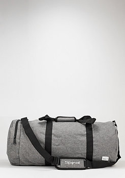 Duffel crosshatch grey