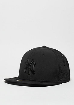 Fitted-Cap Team Ripstop Perf MLB New York Yankees black/black
