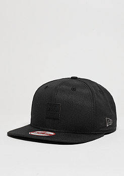 Snapback-Cap Oxford Patch black