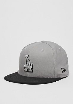 Team Duck Canvas 59Fifty MLB Los Angeles Dodgers grey/black
