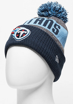 Beanie Sideline Bobble Knit NFL Tennessee Titans official