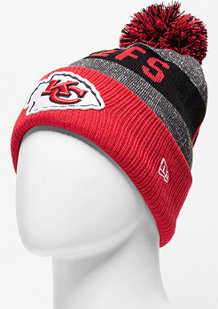 Beanie Sideline Bobble Knit NFL Kansas City Chiefs official