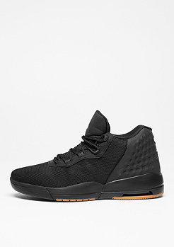 Basketbalschoen Jordan Academy black/anthracute/gum med brown