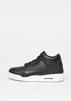 Air Jordan 3 Retro black/black/white