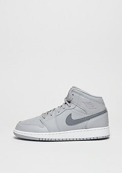 Air Jordan 1 Mid (GS) wolf grey/cool grey/white