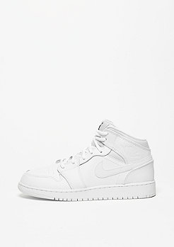 Air Jordan 1 Mid (GS) white/black/white