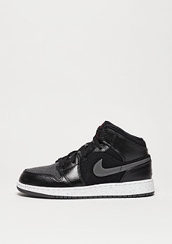 Basketballschuh Air Jordan 1 Mid Winterized BG black/gym red/dk grey/white