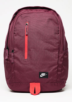 Rucksack All Access Soleday night maroon/university red/white