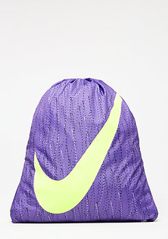 Graphic Gym Sack dark iris/volt/volt