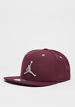 Snapback-Cap Jumpman night maroon/light bone