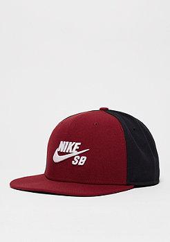 Snapback-Cap Icon team red/black/black