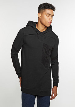 Hooded-Sweatshirt Kruger Black