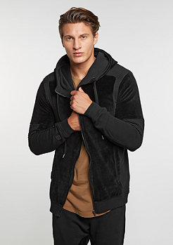 Hooded-Zipper Sweat Keaton Black