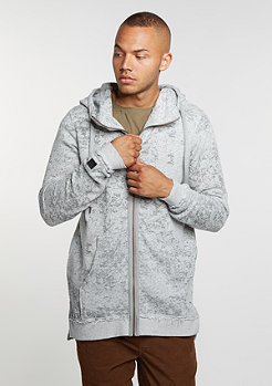 Hooded-Zipper Kloser Grey