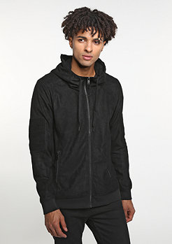 Hooded-Zipper Kyog Black