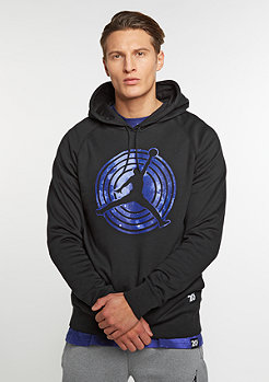 Hooded-Sweatshirt 11 Fleece black/white