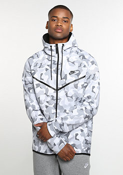 Tech Fleece Windrunner Hoodie white/black/black