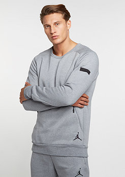 Icon Fleece Crew cool grey/black