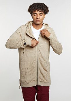 Hooded-Zipper Kloser Sand