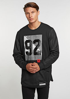 Sweatshirt Air Crew black/black