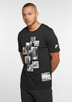 T-Shirt AJ 3 Mike & Mars black/white