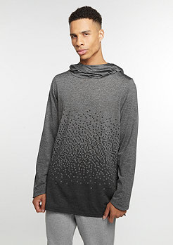 NIKE Hooded-Sweatshirt Dry LeBron charcoal heather/anthracite/black