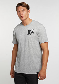 T-Shirt Kyrie Art 1 dark grey heather/dark grey heather/black
