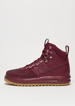 Schuh Lunar Force 1 Duckboot team red/team red/gum light brown