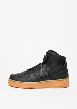 Schuh Wmns Air Force 1 Hi SE black/black/dk grey