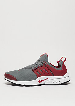 Air Presto Essential cool grey/gym red/white