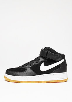 NIKE Basketballschuh Air Force 1 Mid 07 black/white/gum med brown