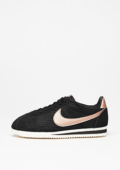 Classic Cortez Leather Lux black/mtlc red/bronze/sail