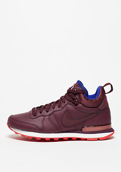Internationalist Mid Leather night maroon/night maroon