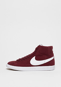 Blazer Mid Suede team red/white