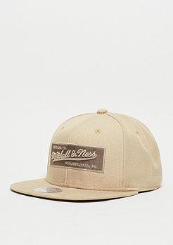 Snapback-Cap Box Logo sand