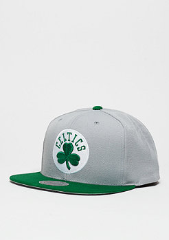 Snapback-Cap Current Throwback NBA Boston Celtics grey/green