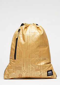 Turnbeutel Everyday Cinch Star Wars C-3PO gold