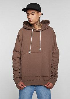 Hooded-Sweatshirt brown