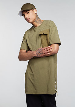T-Shirt Pocket Laced Sides khaki