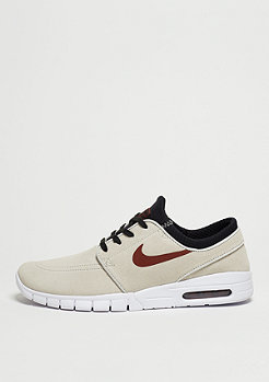 Stefan Janoski Max Suede light bone/team red/black
