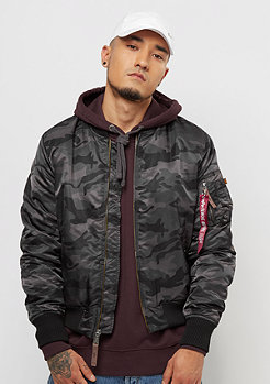 Alpha Industries Bomberjacke MA-1 VF 59 black camo