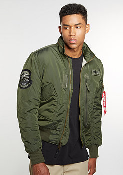 Alpha Industries Übergangsjacke Engine dark green