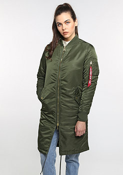 Alpha Industries Winterjacke MA-1 COAT PM WMN d. green