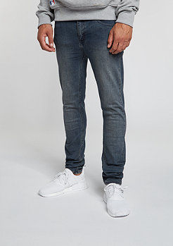Jeans-Hose Tight graphite blue