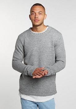 Sweatshirt Caught Knit grey melange