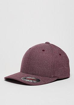 Baseball-Cap Melange burgundy