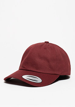 Baseball-Cap Low Profile Cotton Twill maroon
